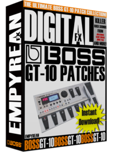 BOSS GT-10 Patches