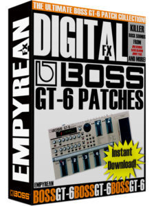 BOSS GT-6 Patches