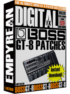 BOSS GT-8 Patches