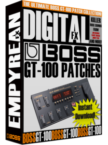 BOSS GT-100 Patches