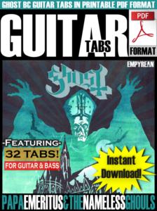 Ghost BC PDF Tabs