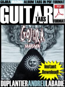 Gojira MAGMA PDF Tabs