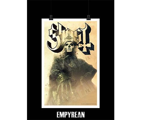 GHOST - PAPA Emeritus III Poster