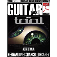TOOL - ÆNIMA PDF Guitar Tabs